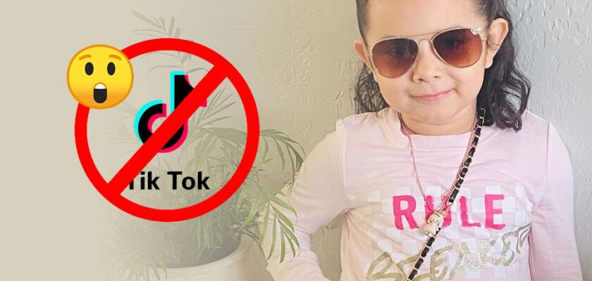Tik Tok cierra cuenta de La Peque Lucia